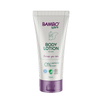 Die Bambo Nature Bodylotion sorgt für eine sanfte, beruhigende und feuchtigkeitsspendende Hautpflege.