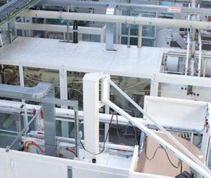 Abena Maschinenraum der eigenen Produktionsstätte