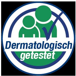 Dermatologisch getestet-Siegel