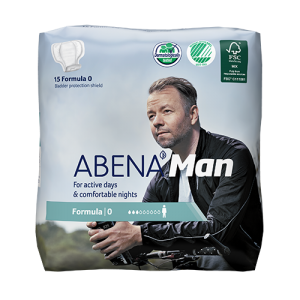 Abena Man - Männerprodukt bei Nachtröpfeln