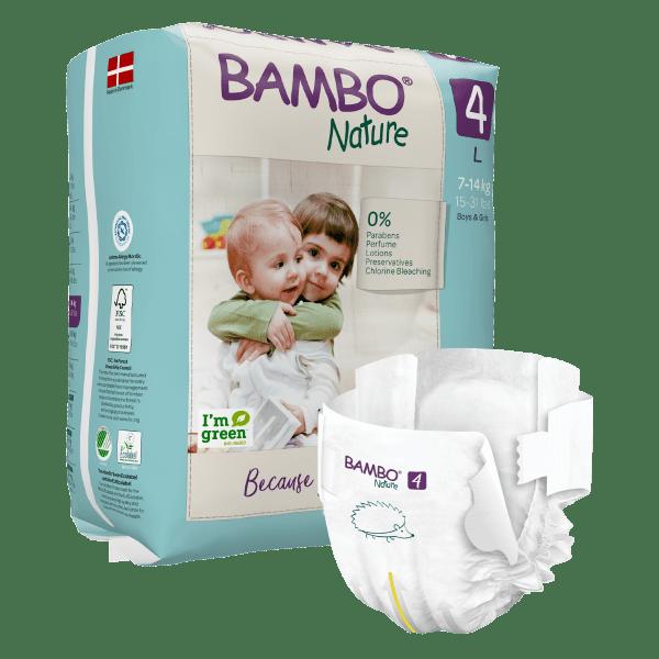 Bambo Nature Windel Größe 4