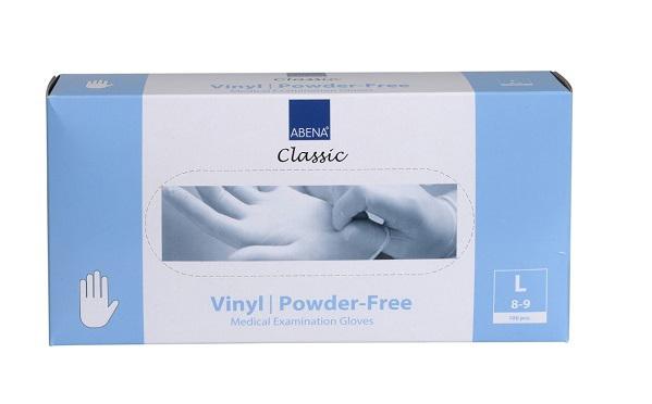 Medizinische Hilfsmittel: Einweghandschuhe Vinyl