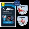 Abbildung Huggies DryNites für Jungen 4-7 Jahre mit Superheld