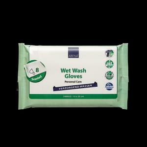 Abena Feuchte Waschhandschuhe zur Intimpflege